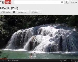 Vídeo divulga as cachoeiras da Mimosa