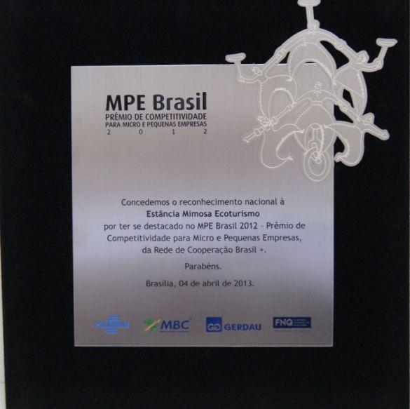 Homenagem MPE ao Grupo Rio da Prata