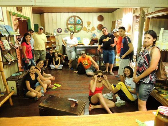 Acadêmicos da UEMS realizam visita técnica na Estância Mimosa