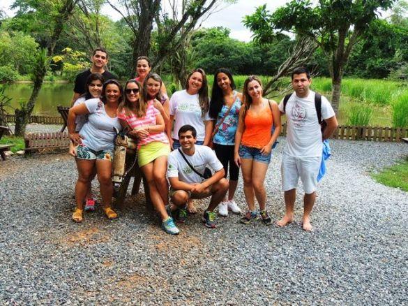 Operadores visitam atrativos do Grupo Rio da Prata