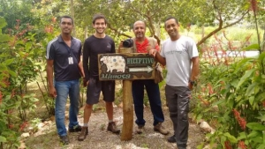 TV da Bahia realiza filmagens na Estância Mimosa Ecoturismo