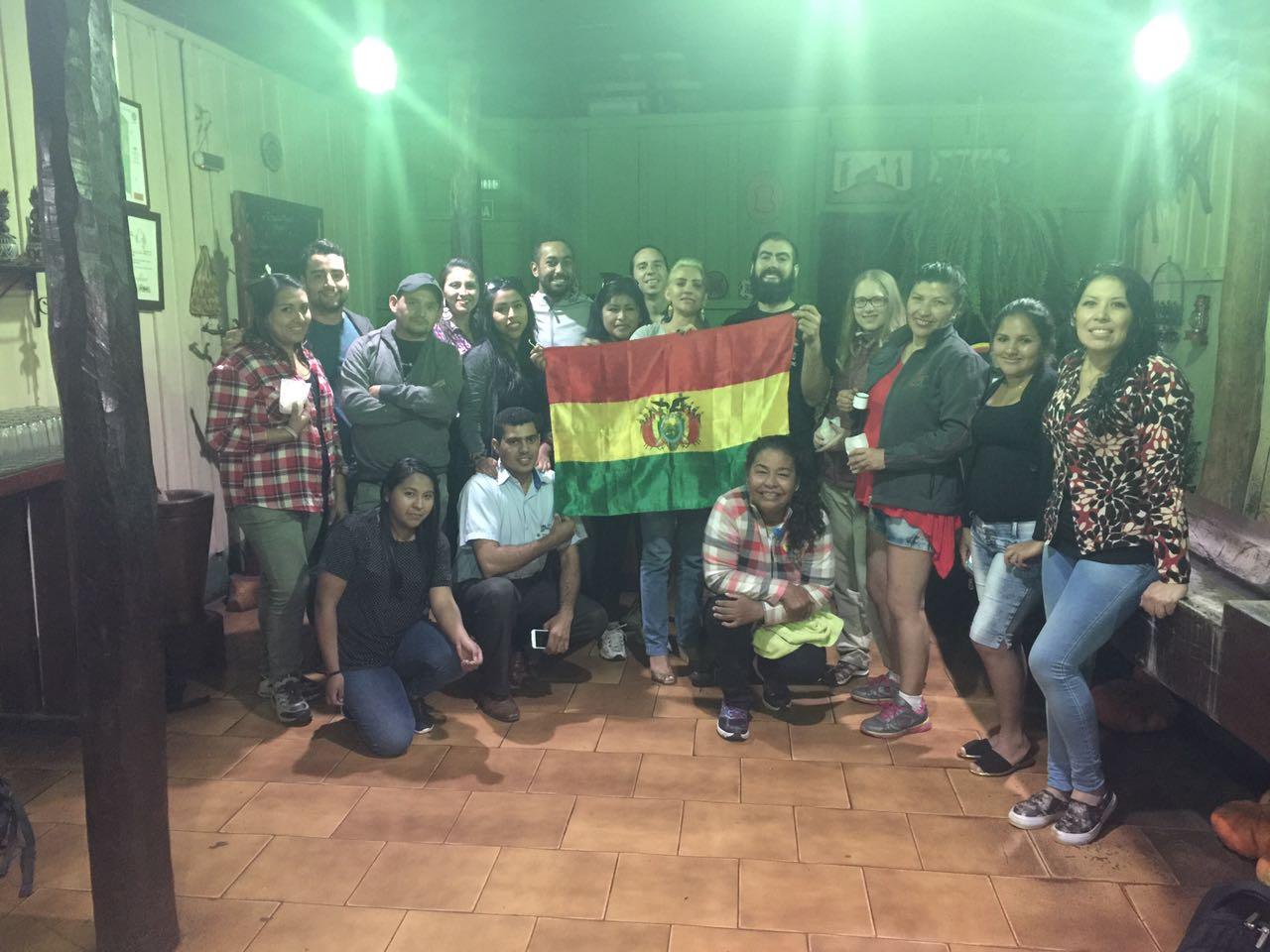 Famtour da Bolívia na Estância Mimosa