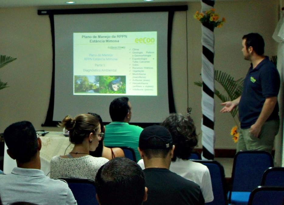 Estância Mimosa apresenta Plano de Manejo para trade turístico