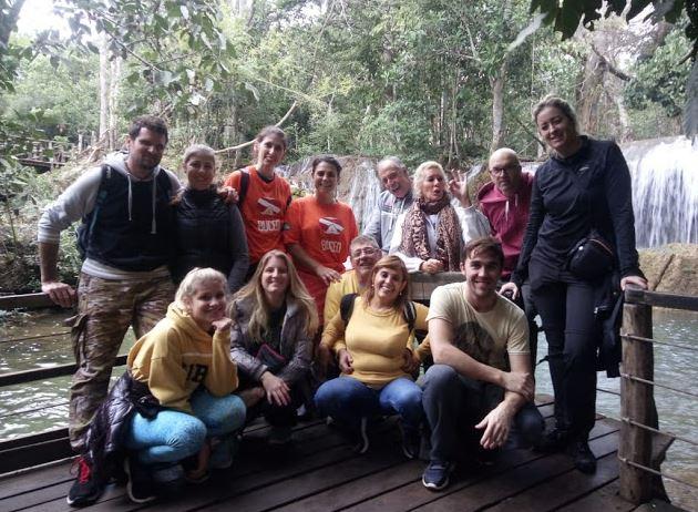 Mergulhadores visitam atrativos do Grupo Rio da Prata